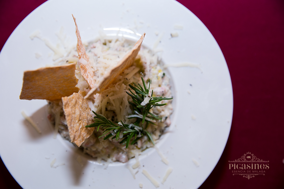Risotto de tartar Picasines